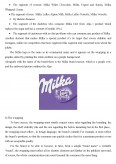 Imagine document Milka