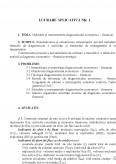 Imagine document Metodele si instrumentele diagnosticului economico - financiar