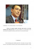 Imagine document Victor Ponta - sustinator activ al tinerilor