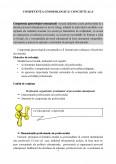 Competenta Gnoseologica - Conceptuala