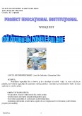 Imagine document Proiect Educational Institutional