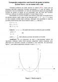 Comparatia radacinilor functiei de gradul 2 cu doua numere reale distincte date