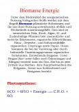 Imagine document Biomasse Energie Photosynthese