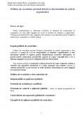 Imagine document Politici de Securitate privind Folosirea Internetului in Cadrul Organizatiilor