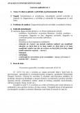 Imagine document Analiza Economico-financiara - Lucrari Aplicative + test