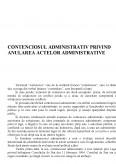 Contenciosul Administrativ privind Anularea Actelor Administrative