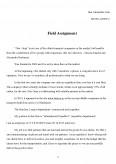 Imagine document Field assignment