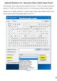 Imagine document Aplicatii Windows 10 - Character Map si Math Imput Panel
