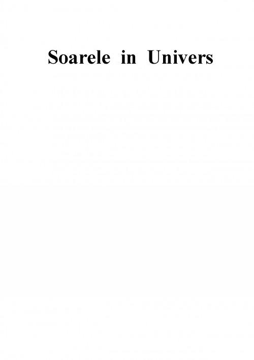 Referat: Soarele (#332272) - Graduo