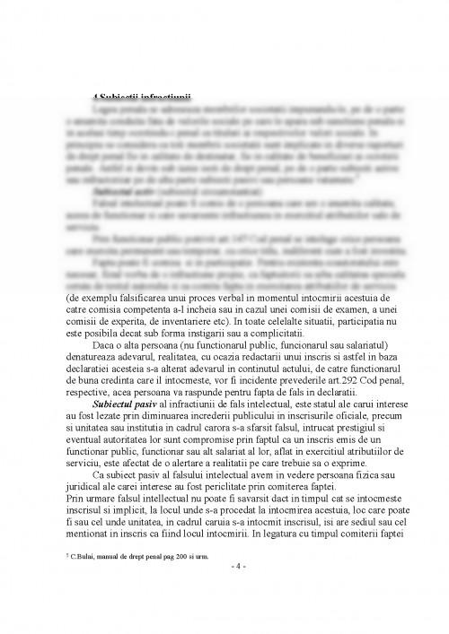 Referat: Infractiuni de Fals (#396376) - Graduo
